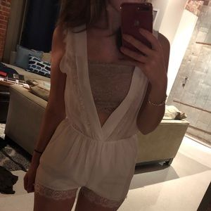 Other - *NEVER WORN White romper!